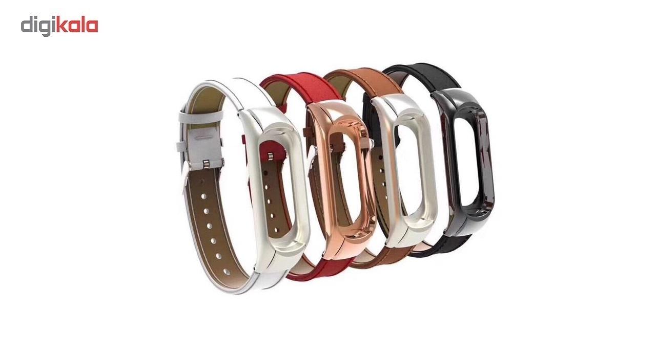 بند مچ بند مدل Mi Band 3 Leather مناسب برای مچ بند هوشمند شیائومی3 main 1 2