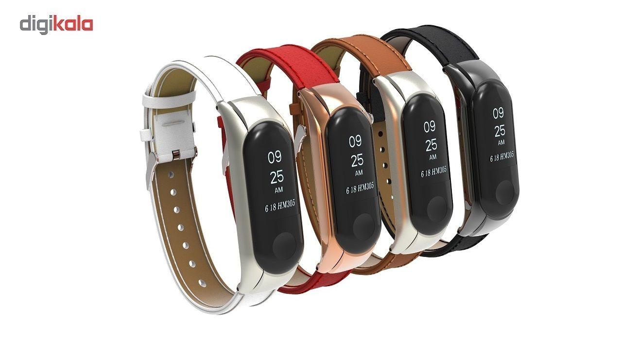 بند مچ بند مدل Mi Band 3 Leather مناسب برای مچ بند هوشمند شیائومی3 main 1 3