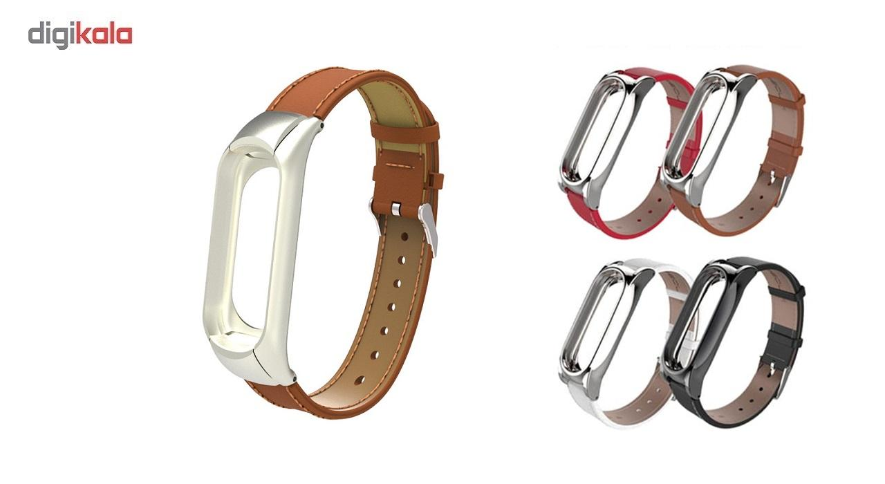 بند مچ بند مدل Mi Band 3 Leather مناسب برای مچ بند هوشمند شیائومی3 main 1 4