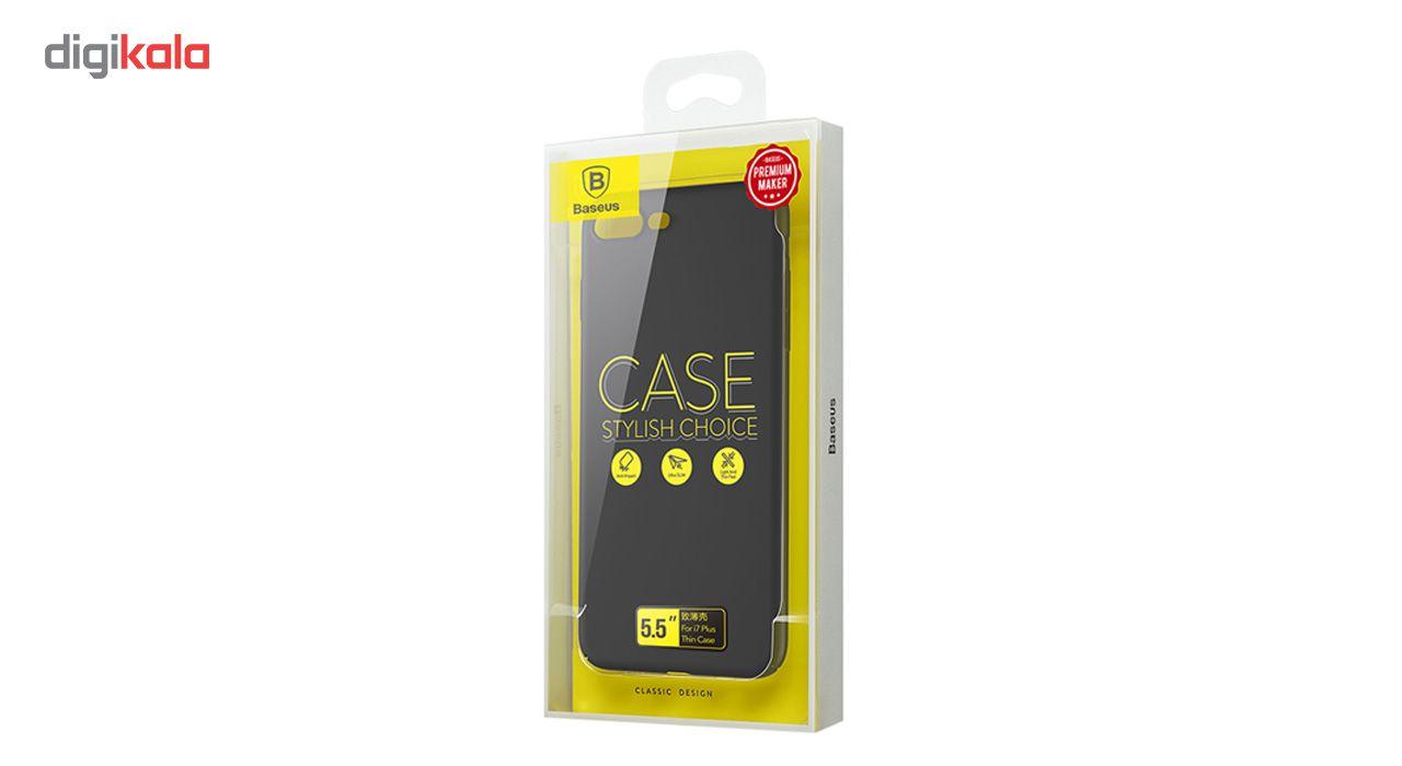 کاور باسئوس مدل Thin مناسب برای گوشی موبایل اپل iPhone 7 Plus/8 Plus main 1 16