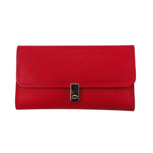 کیف پول چرم دست دوز مدل Diana05