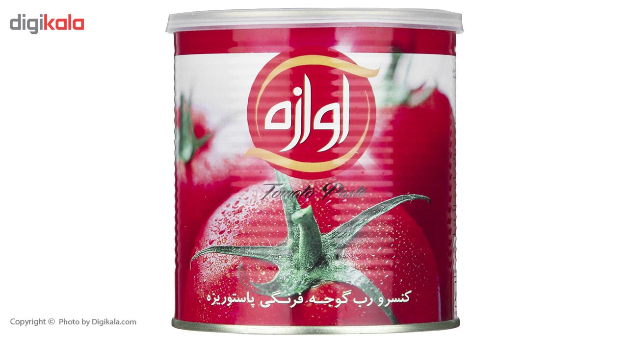 کنسرو رب گوجه فرنگی آوازه مقدار 800 گرم