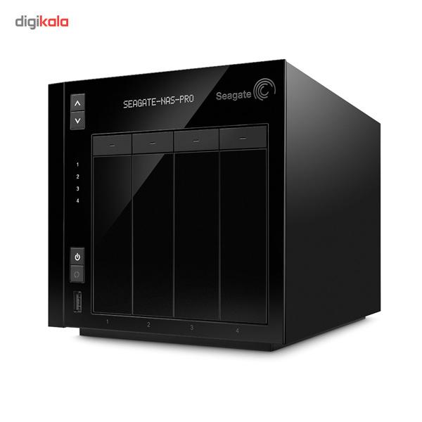 ذخیره ساز تحت شبکه سیگیت مدل Pro 4-Bay STDE200 بدون هارد دیسک