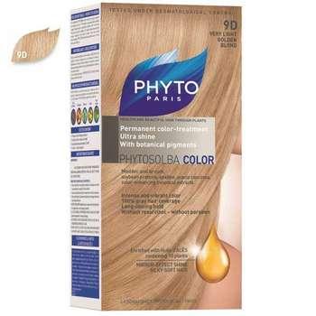 کیت رنگ مو فیتو مدل PHYTO COLOR شماره 9D