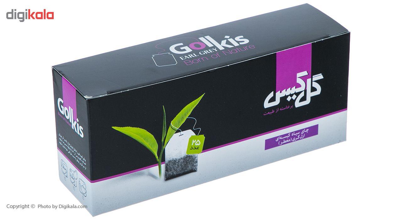 چای سیاه کیسهای ارل گری گل کیس بسته 25 عددی main 1 2