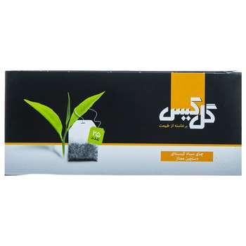 چای سیاه کیسهای دستچین ممتاز گل کیس بسته 25 عددی