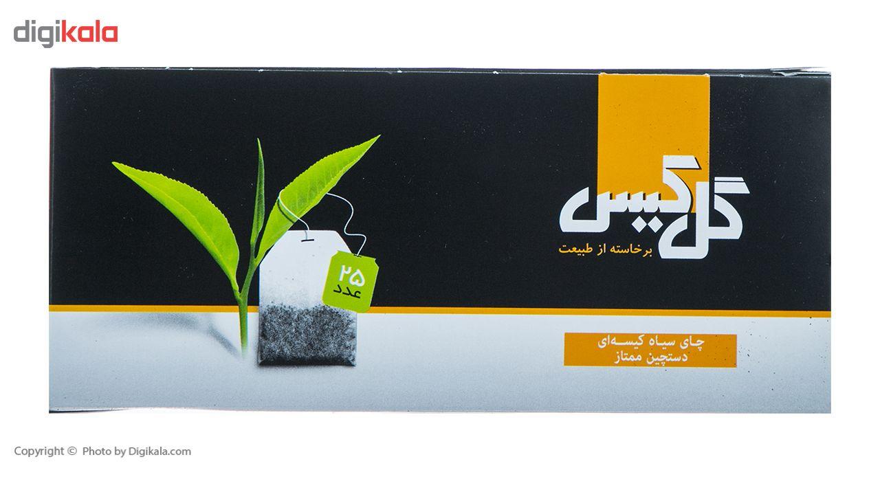 چای سیاه کیسهای دستچین ممتاز گل کیس بسته 25 عددی main 1 2