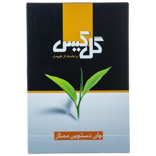 چای سیاه دستچین ممتاز گل کیس مقدار 450 گرم