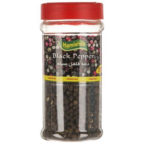 دانه فلفل سیاه همیشک مقدار 100 گرم