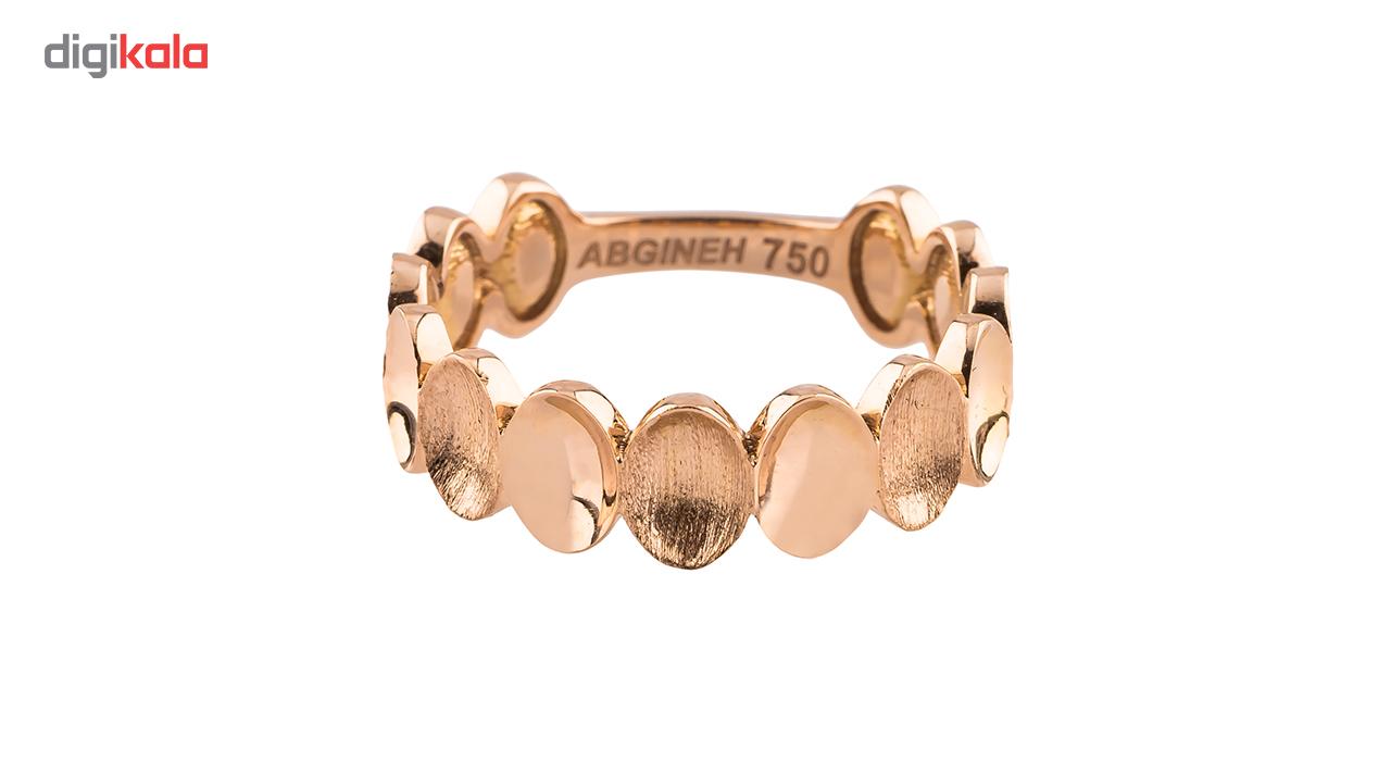 انگشتر طلا 18 عیار مدل 1028