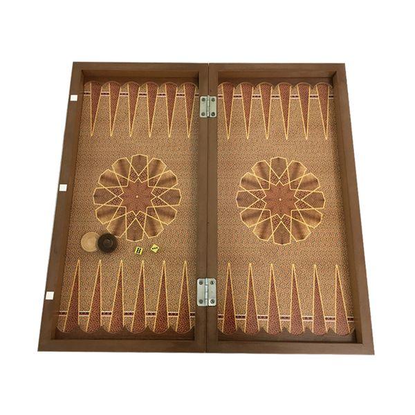 صفحه شطرنج و تخته نرد مدل GH01