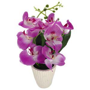 گلدان به همراه گل مصنوعی کیدتونز کد KGG-013-1
