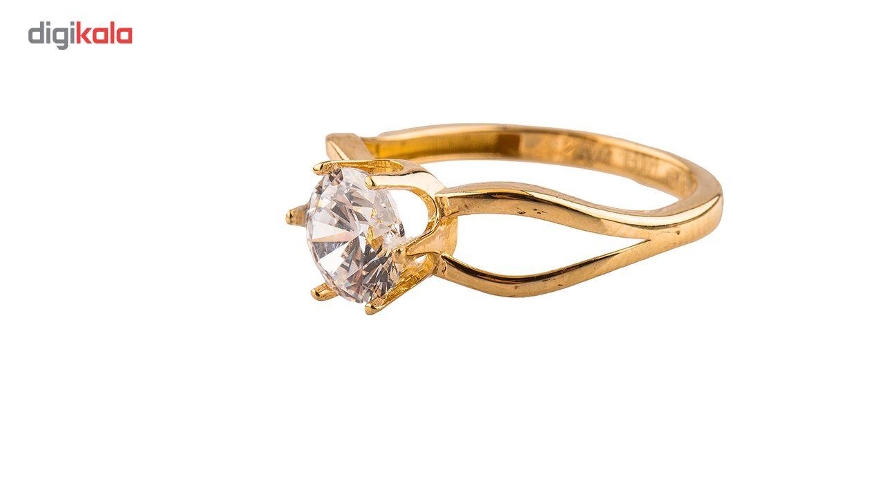 انگشتر طلا18 عیار مدل 6013 thumb 2 1