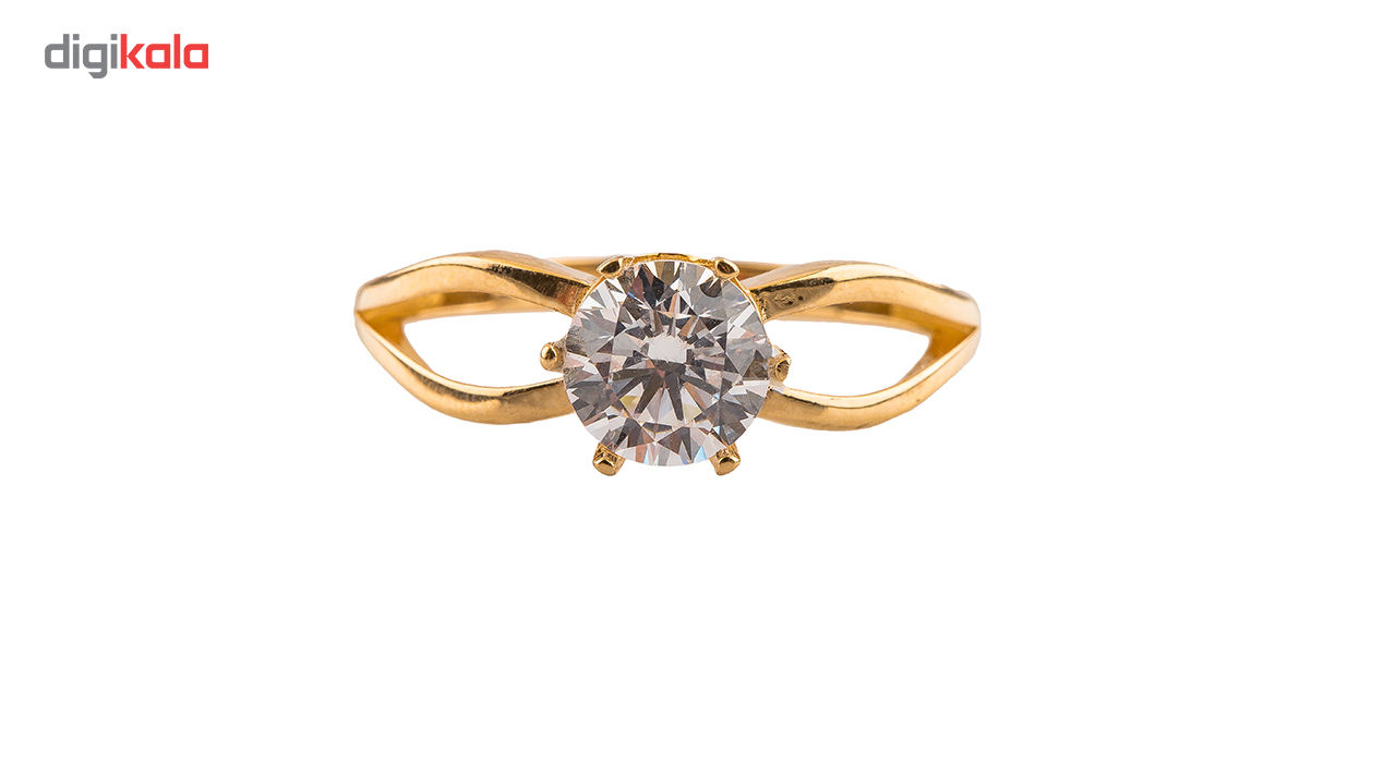 انگشتر طلا18 عیار مدل 6013 thumb 2 2