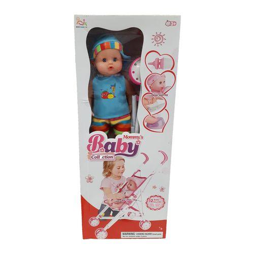 ست کالسکه و عروسک نیو فشن مدل Momy's Baby Collection