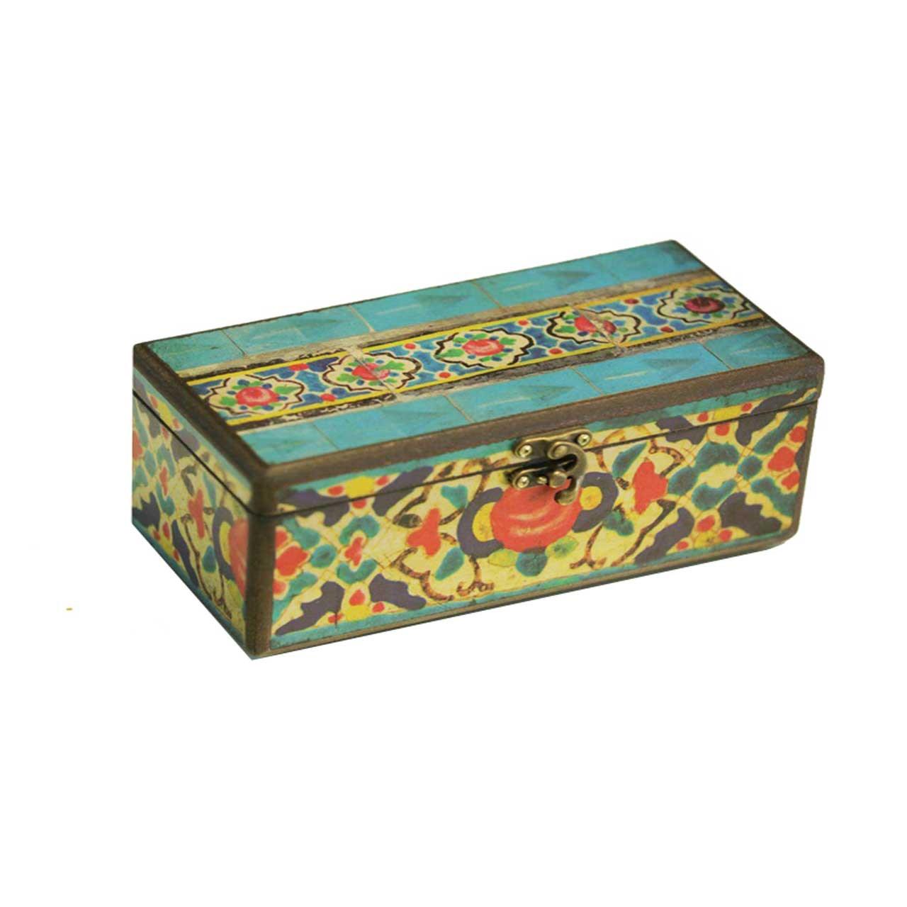 جعبه جواهرات وندا طرح درباری