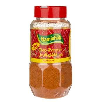 ادویه پودر فلفل قرمز همیشک مقدار 100 گرم