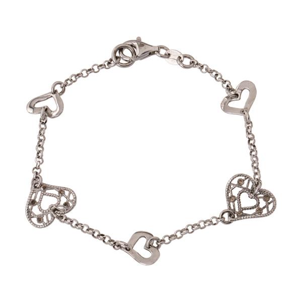 دستبند نقره زنانه آمارانته مدل 4-3752