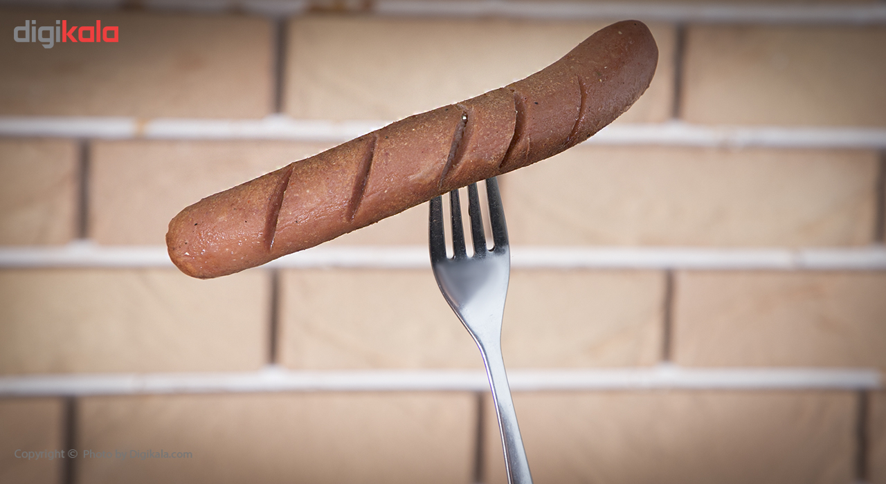 سوسیس هات داگ 55% شام شام مقدار 500 گرم