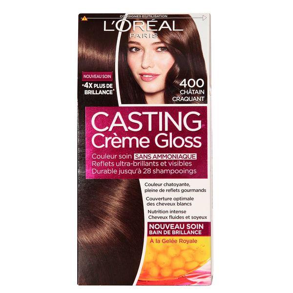 کیت رنگ مو لورآل شماره Casting Creme Gloss 400