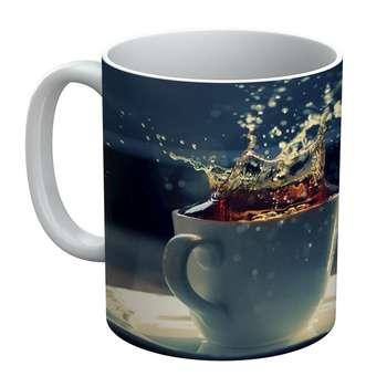 ماگ الینور طرح لیوان چای مدل ELM1852