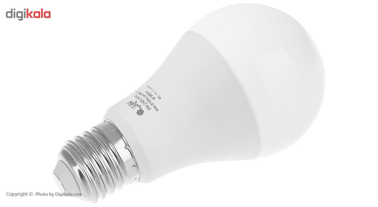 لامپ ال ای دی 9 وات افراتاب مدل AF-B-0901-9W پایه E27 main 1 3