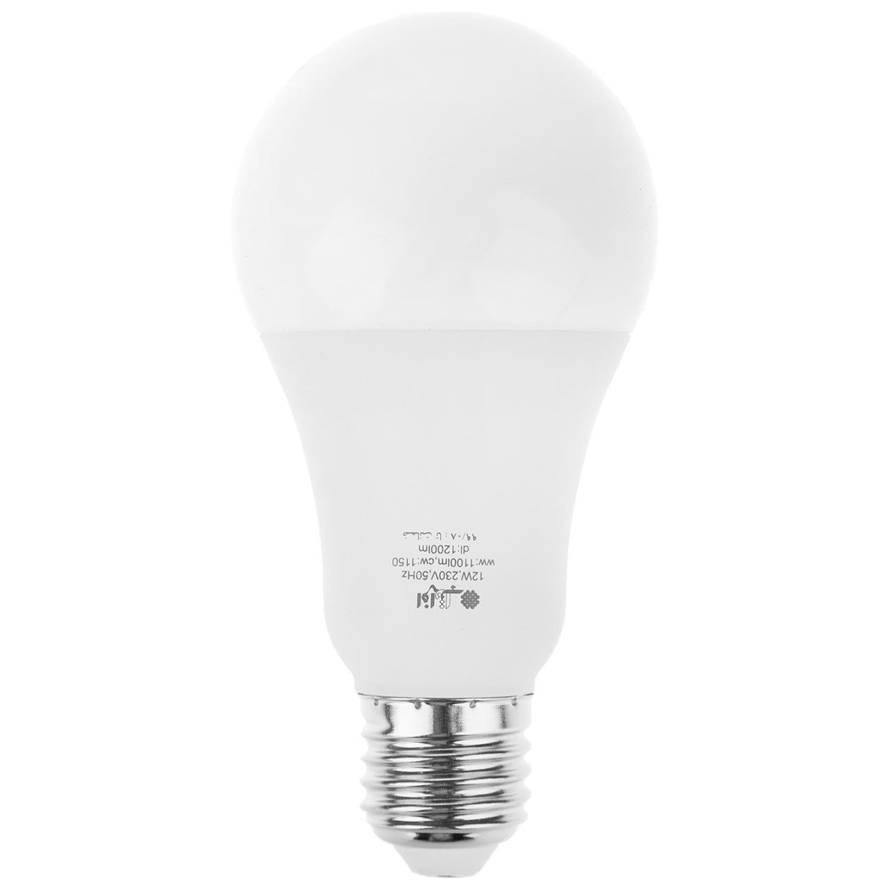 لامپ ال ای دی 12 وات افراتاب مدل AF-G65-12W پایه E27