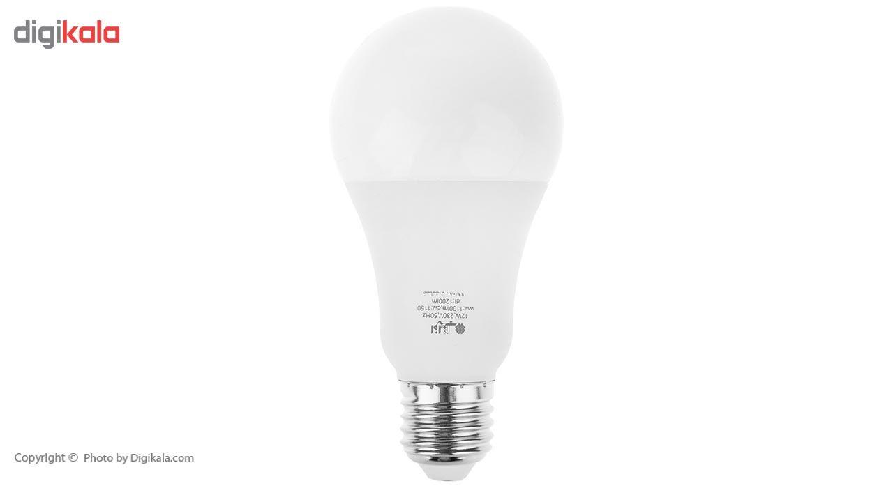 لامپ ال ای دی 12 وات افراتاب مدل AF-G65-12W پایه E27 main 1 1