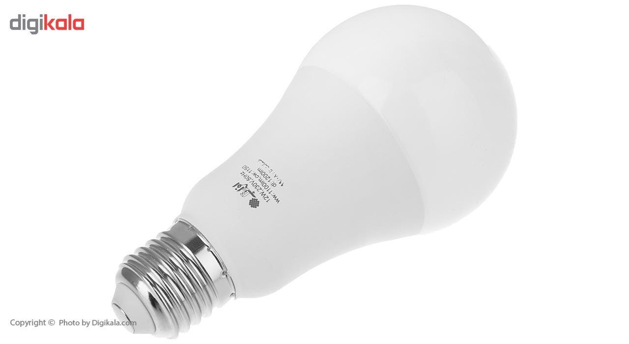 لامپ ال ای دی 12 وات افراتاب مدل AF-G65-12W پایه E27 main 1 3