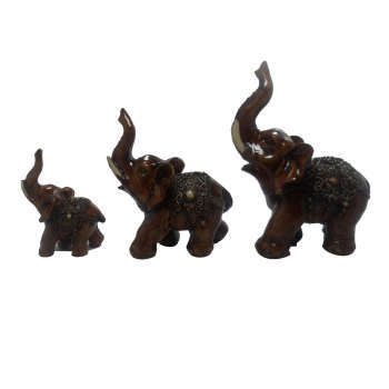 مجسمه فیل مدل 1013مجموعه سه عددی