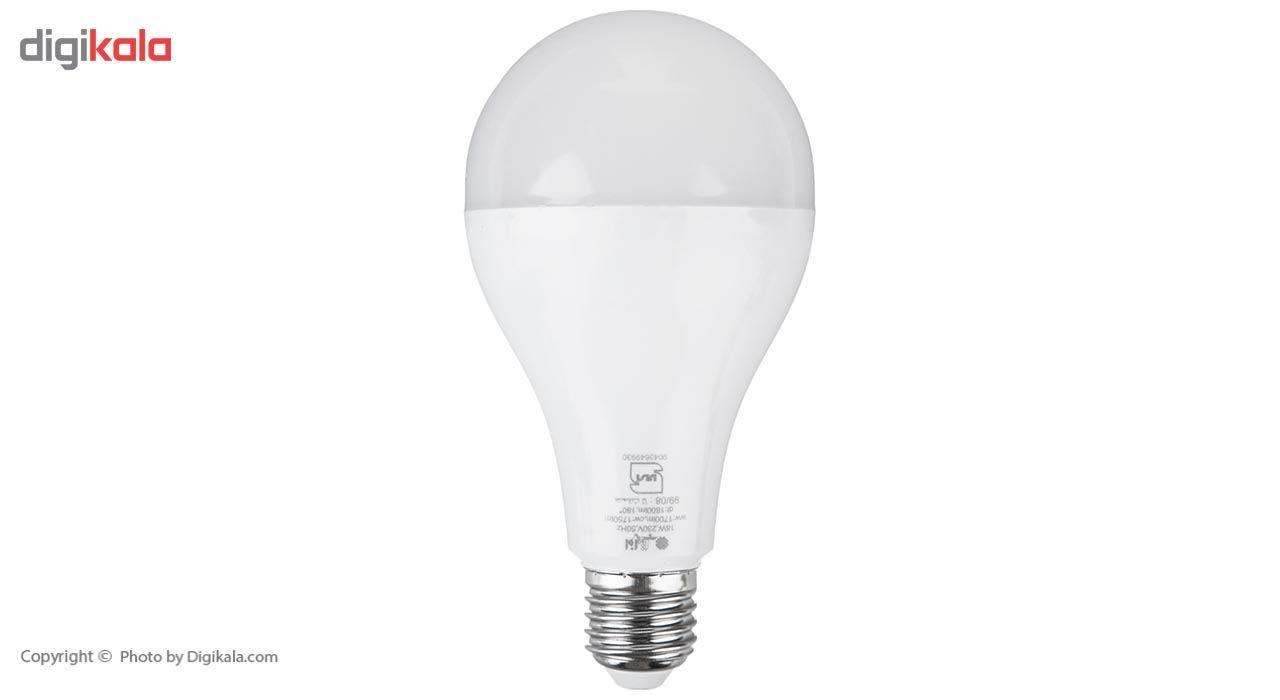 لامپ ال ای دی 18 وات افراتاب مدل AF-A80-18W پایه E27 main 1 1