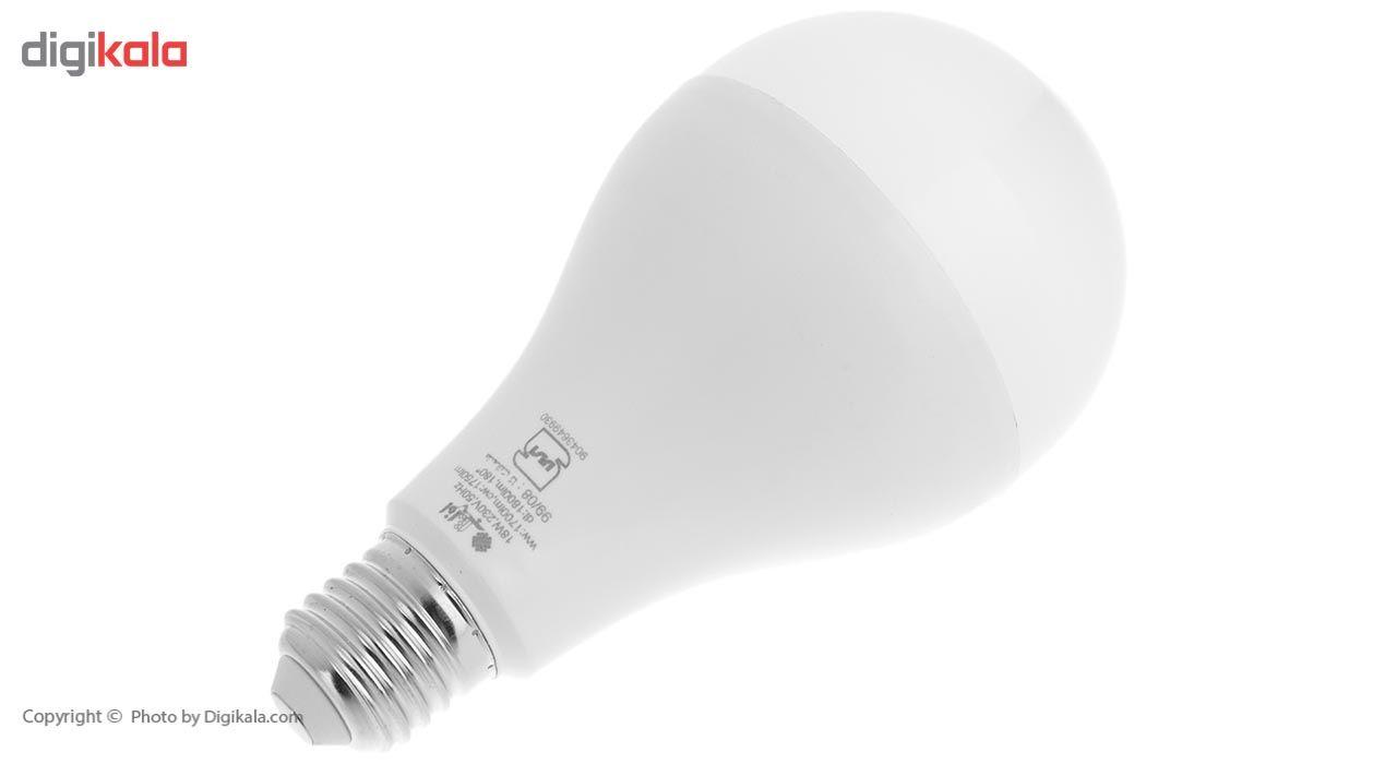 لامپ ال ای دی 18 وات افراتاب مدل AF-A80-18W پایه E27 main 1 3