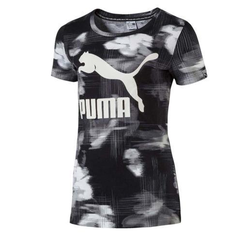تی شرت ورزشی دخترانه پوما مدل Classic Aop