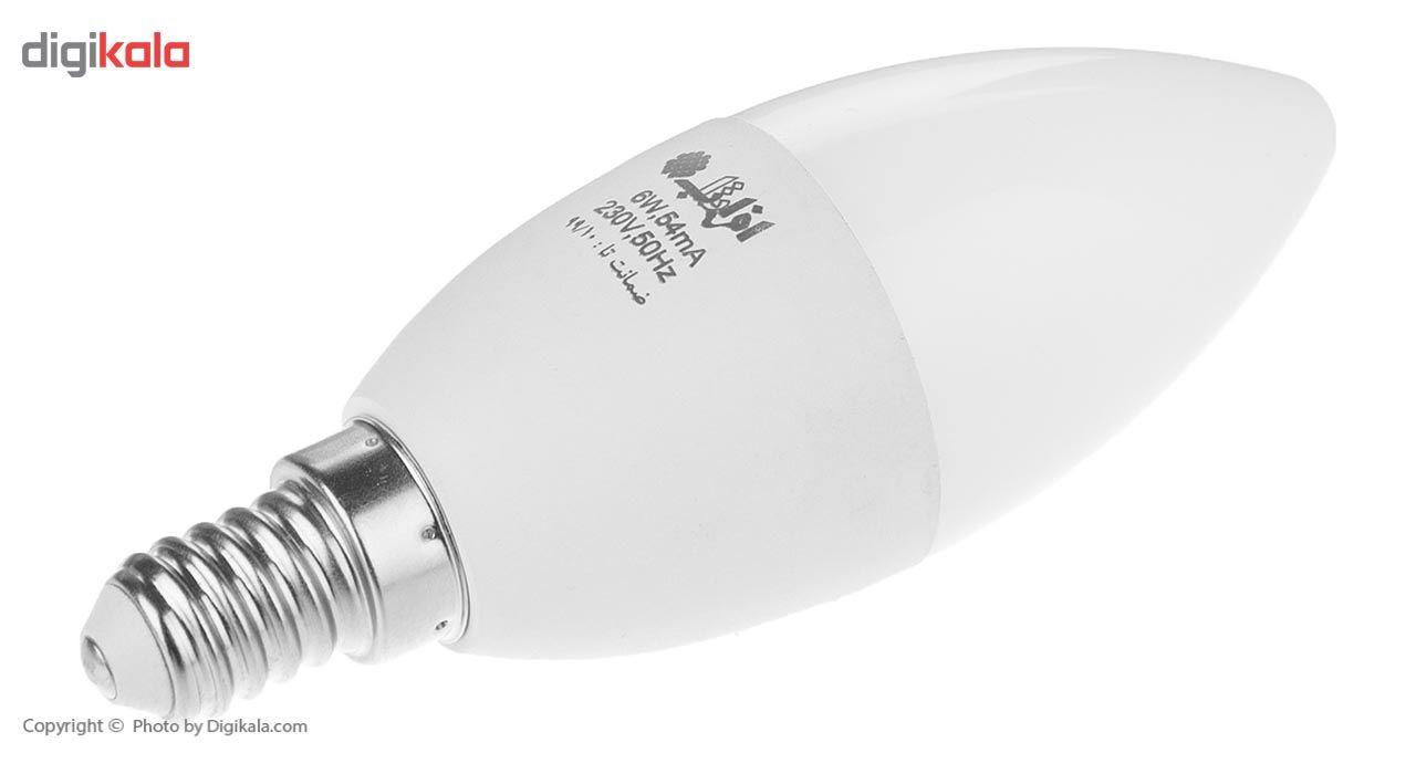 لامپ ال ای دی 7وات افراتاب شمعی مدل AF-C37-7W پایه E14 main 1 3