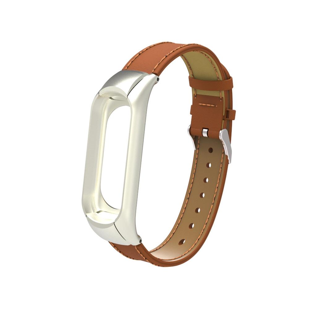بند مچ بند مدل Mi Band 3 Leather مناسب برای مچ بند هوشمند شیائومی3