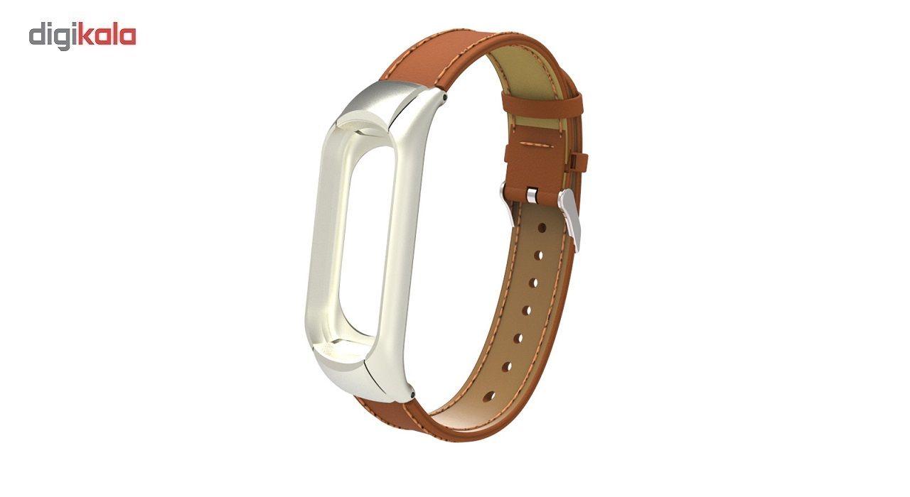 بند مچ بند مدل Mi Band 3 Leather مناسب برای مچ بند هوشمند شیائومی3 main 1 1