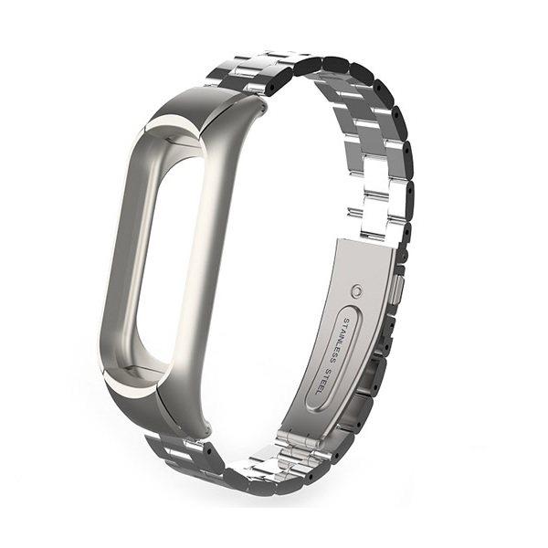 بند مچ بند مدل Mi Band 3 Metal مناسب برای مچ بند هوشمند شیائومی3