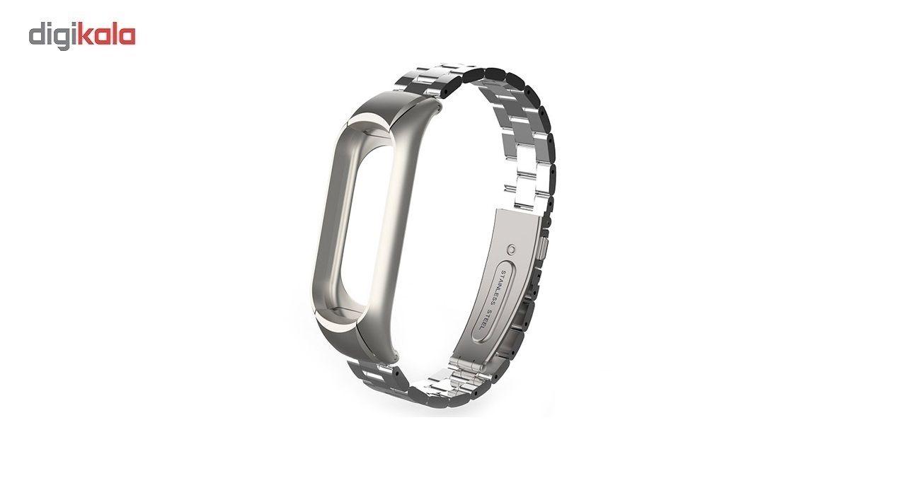 بند مچ بند مدل Mi Band 3 Metal مناسب برای مچ بند هوشمند شیائومی3 main 1 1
