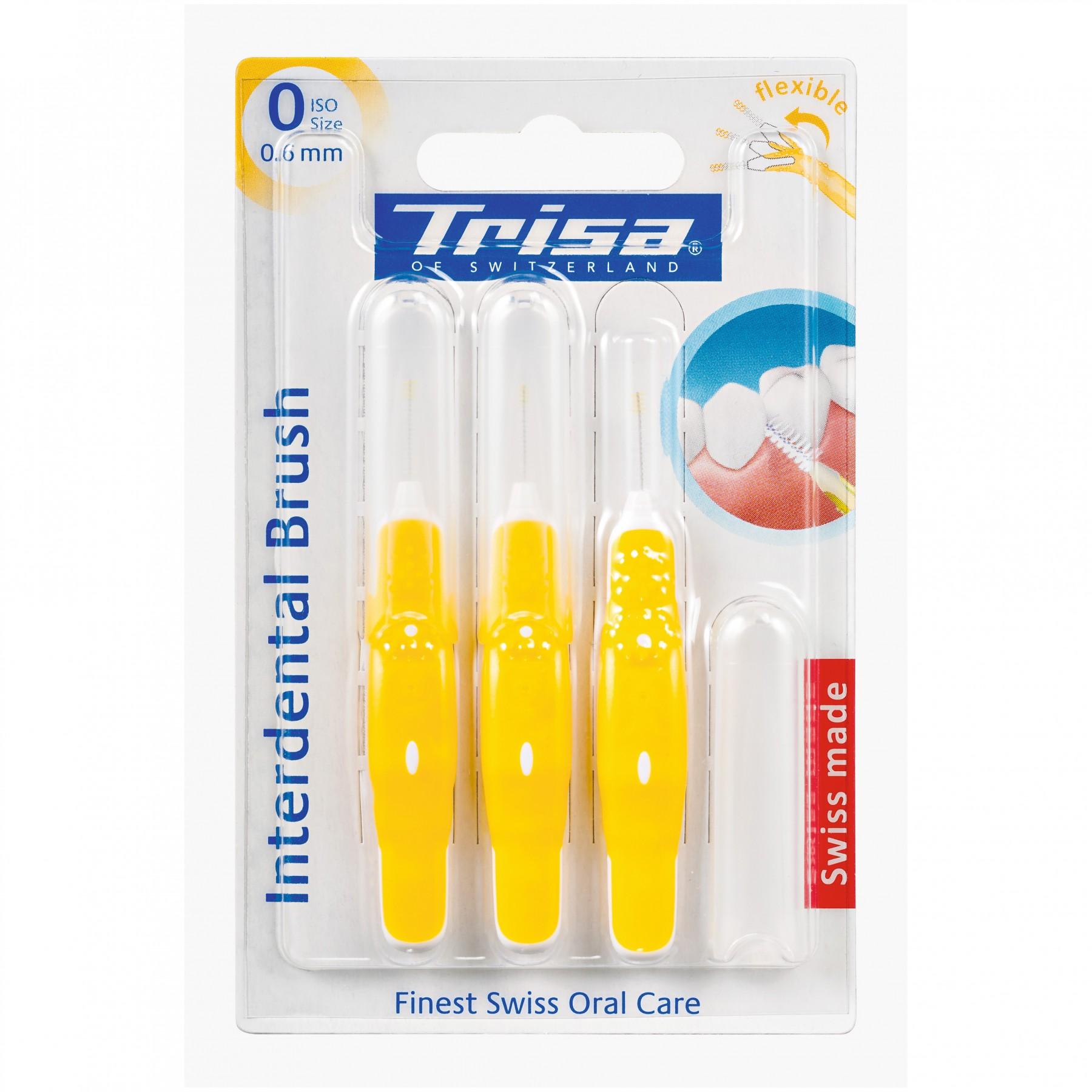 قیمت مسواک بین دندانی تریزا مدل Interdental Brush 0.6mm