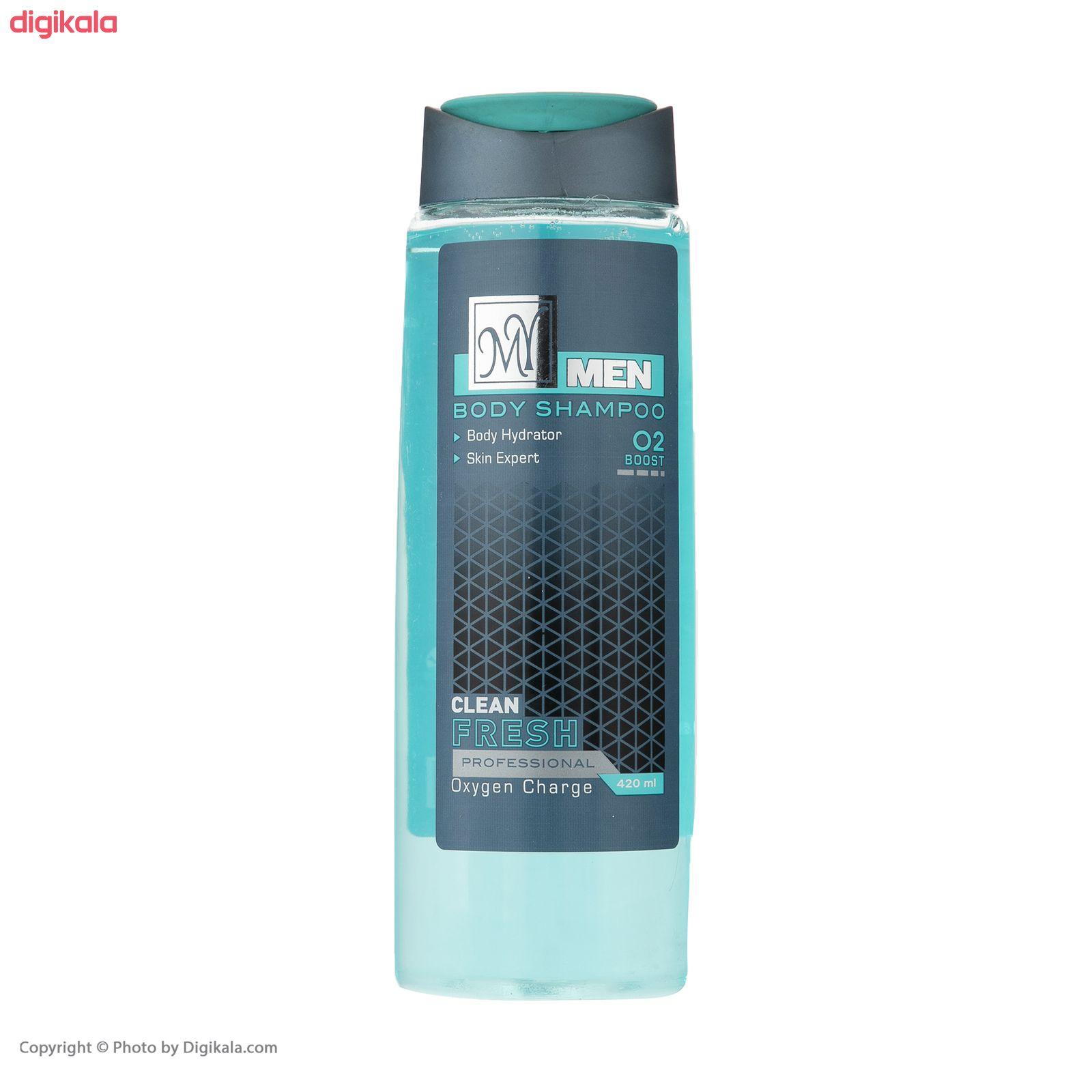 شامپو بدن مردانه مای مدل Clean Fresh حجم 420 میلی لیتر main 1 3