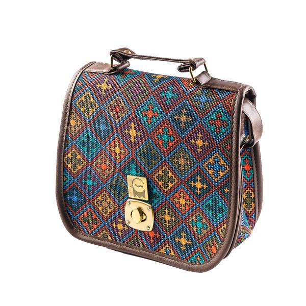 کیف دستی و دوشی زنانه ماتریس مدل فرزان FA115