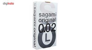 کاندوم بسیار نازک ساگامی مدل Large بسته 4 عددی  Sagami Large Ultra Thin Condoms 4PSC