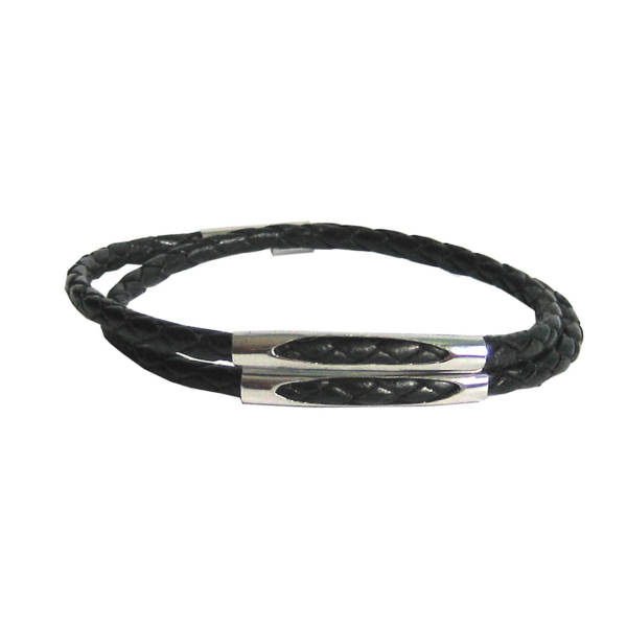 دستبند چرم طبیعی دانوب مدل شبگرد کد 001