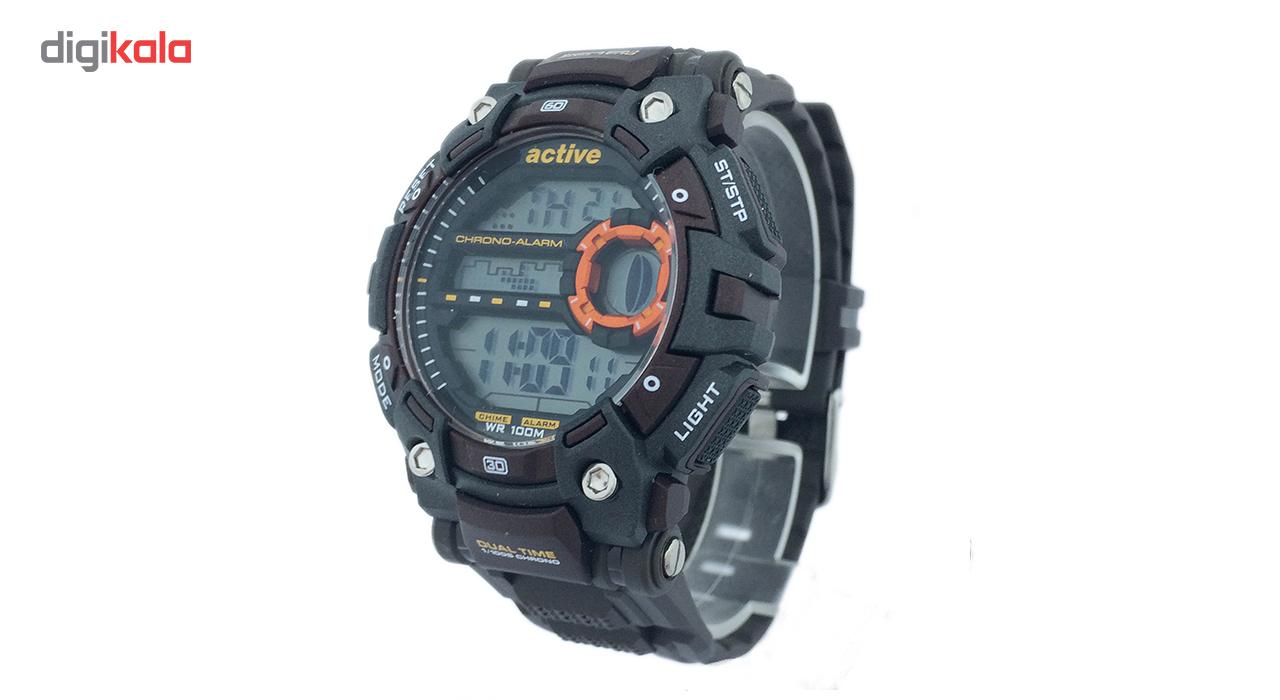 ساعت مچی دیجیتال اکتیو مدل YP1672012