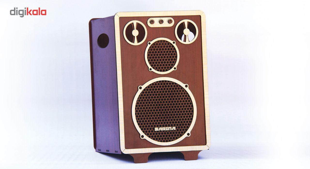 ست سطل و جا دستمال اس ای دکور مدل رادیو و اسپیکر main 1 3
