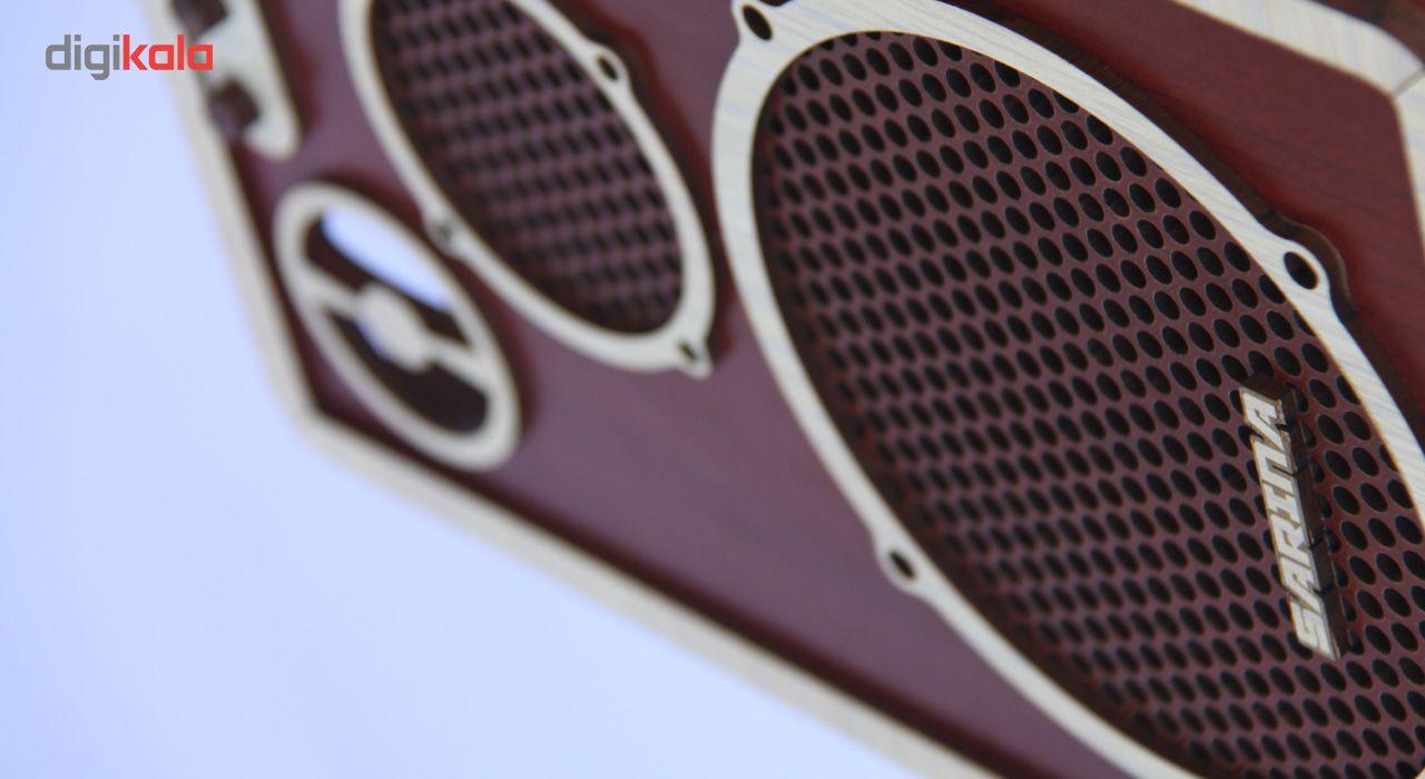 ست سطل و جا دستمال اس ای دکور مدل رادیو و اسپیکر main 1 4