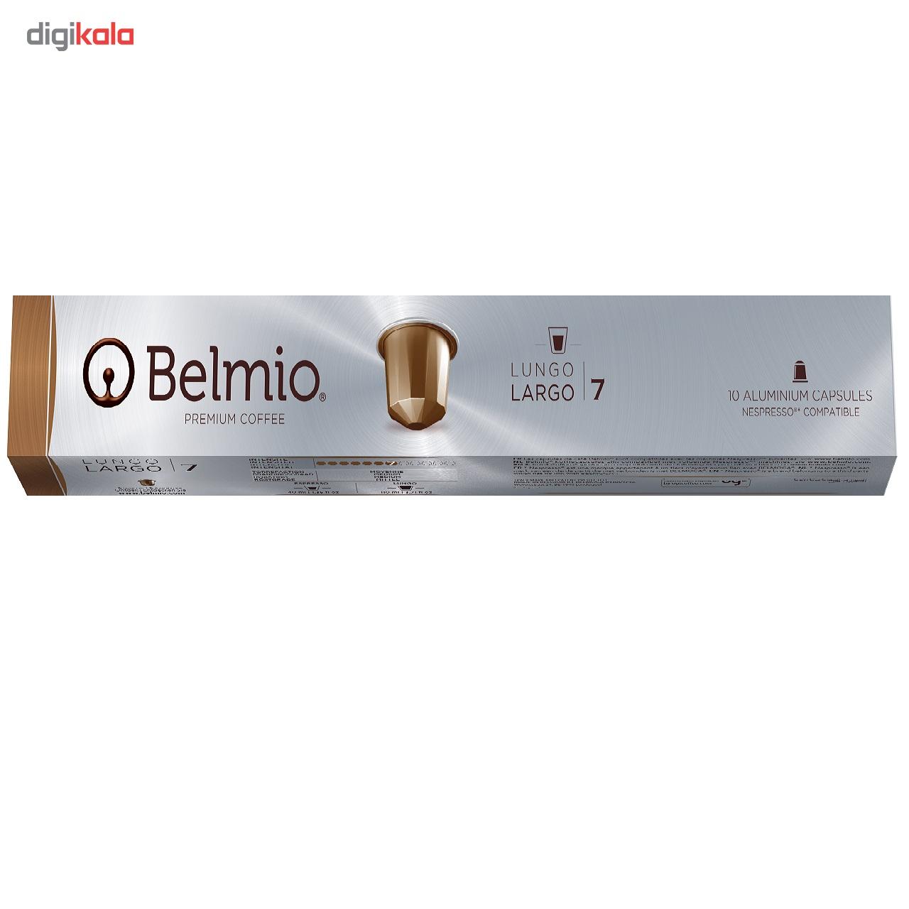 کپسول قهوه بلمیو مدل Largo بسته 10 عددی