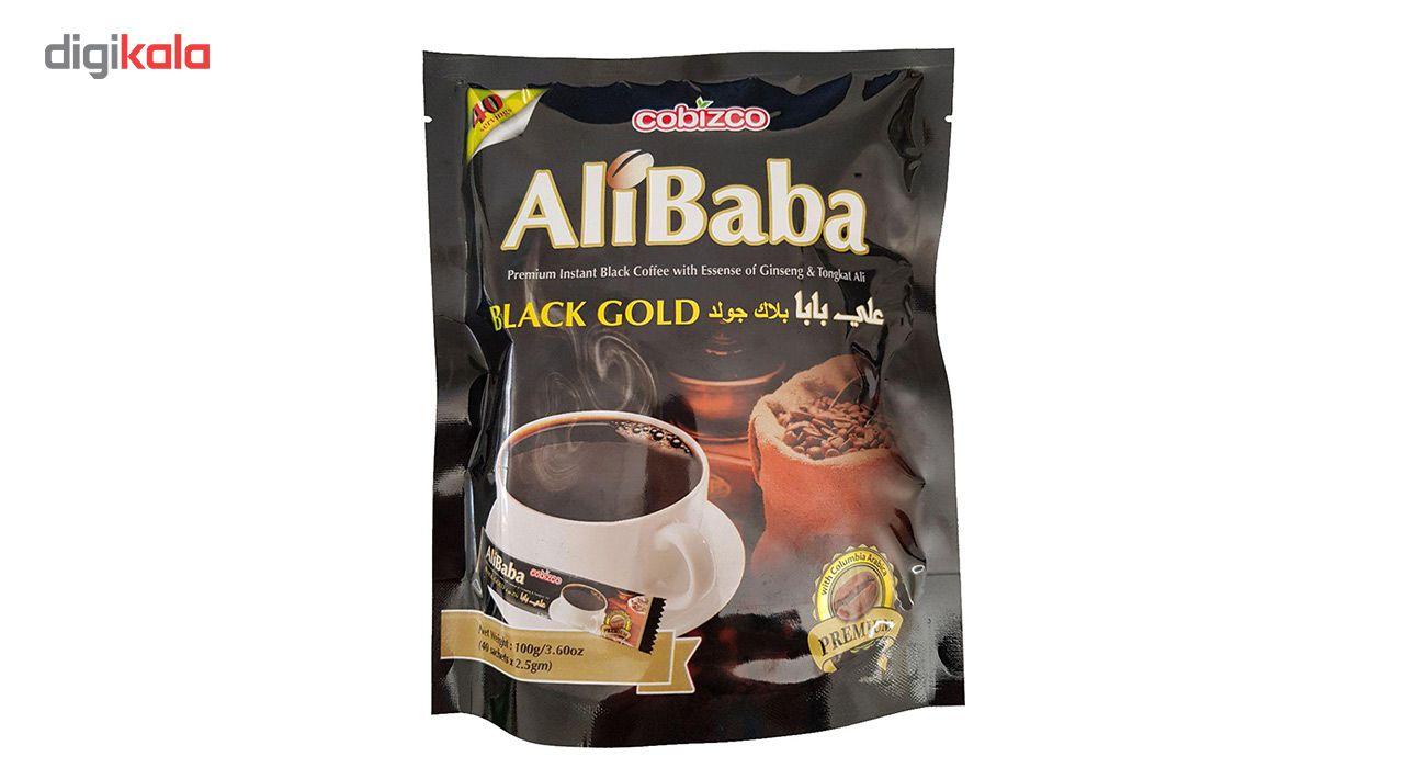 قهوه فوری کوبیزکو مدل علی بابا جینسینگ دار بسته 40 عددی main 1 1