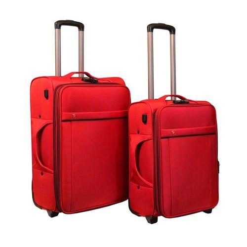 مجموعه دو عددی چمدان مدرن کیف پارسیان مدل Yas