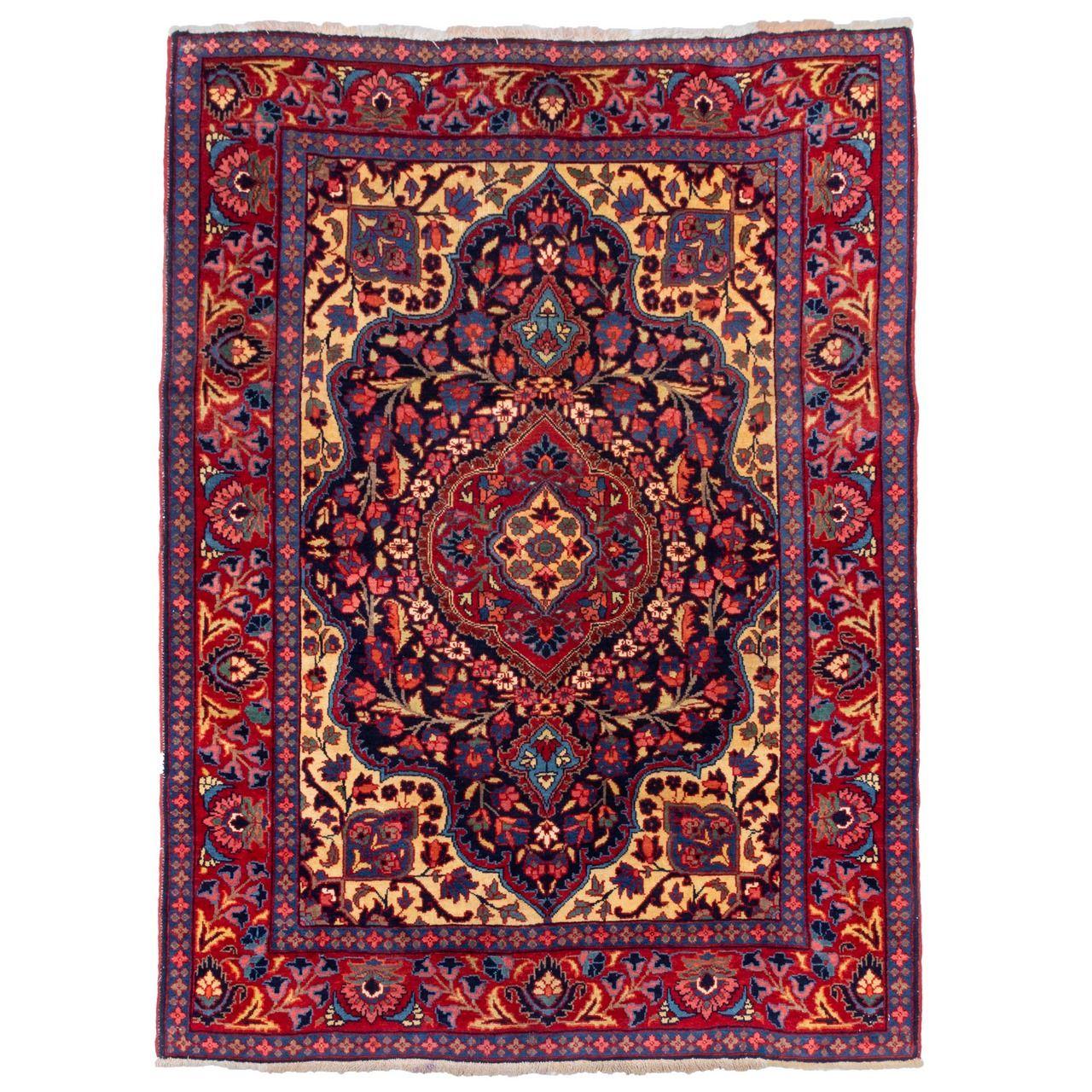 فرش دستباف قدیمی دو متری سی پرشیا کد 102352